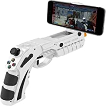 ZGYQGOO Gamepad Remote Vibration Bluetooth, USB Charging Gamepad Handset 2.4G, Game Controller Wireless Joystick Game Cubes, Supports iOS for Android/PC Other Phone,White
