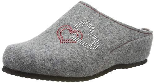 ARA Damen Cosy 1529907 Pantoffeln, Grau (Grau 06), 42 EU