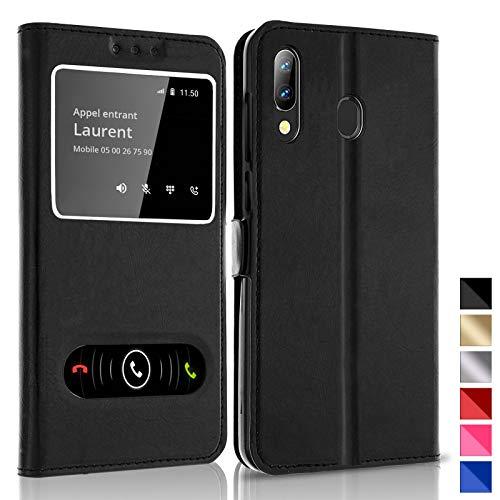 KONTARBOOR Custodia Cover Samsung Galaxy A20E Nero * * * Vari Colori Disponibili * * * Vari Colori Disponibili * * * Vari Colori Disponibili * * *