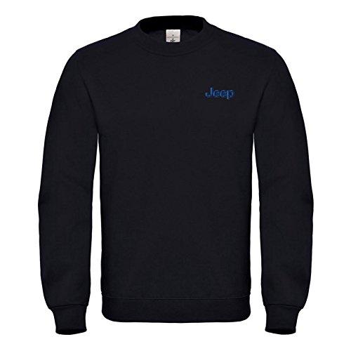 Jeep Wrangler USA Bestickte Auto Sweatshirts VIP super Qualität 100% Cotton - 6046Sw (XL)