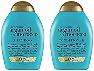 Organix Moroccan Argan Oil Unisex All Hairs Shampoo and Conditioner Set