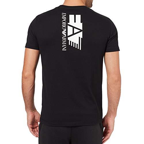 Emporio-Armani EA7 heren t-shirt 3HPT29 PJ6Z1, korte mouwen, ronde hals