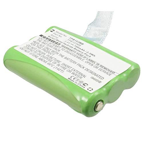 subtel® Qualitäts Akku kompatibel mit Topcom Babytalker 1010 Babytalker 1020 Twintalker 3700 1030 (700mAh) TPB103MB Ersatzakku Batterie