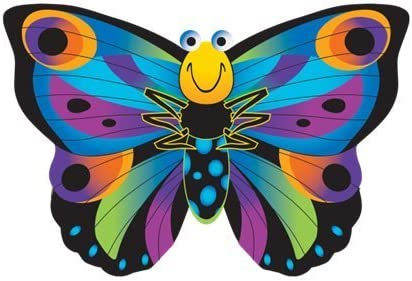 X-Kites 34 Inch SkyBugz Butterfly Kite w/Handle  Line