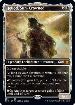 Magic: The Gathering - Heliod, Sun-Crowned - Showcase - Theros Beyond Death