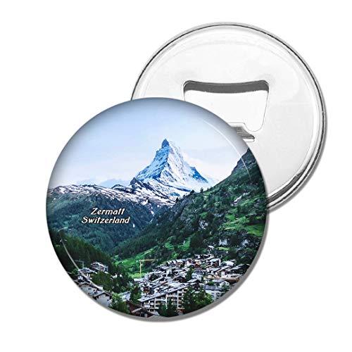 Weekino Schweiz Das Matterhorn Zermatt Bier Flaschenöffner Kühlschrank Magnet Metall Souvenir Reise Gift