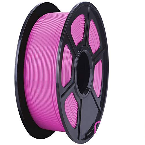 ZXC QualitäTs Pla Filament Feder 3D Filament Refills 1,75 mm Genauigkeit ± 0,02 100% Nein Blase 1 kg 2.2lb Kein Geruch Und Leicht Zu SchäLen Filament for Die Meisten 3D-Drucker(Color:Fuchsie)