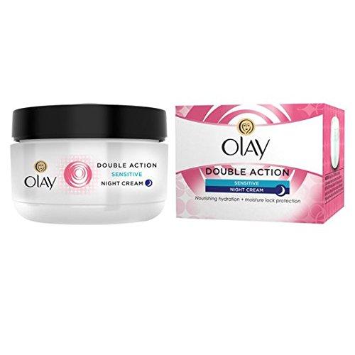 Olay Double Action Sensitive Creme Nachtcreme 50 ml