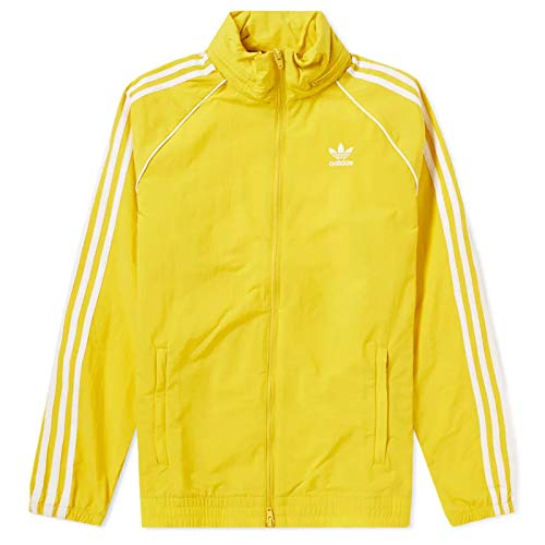 adidas Originals Superstar Windbreaker SST Colorado Jacke Windjacke 86304 Gelb L, Größe:L, Farbe:Gelb