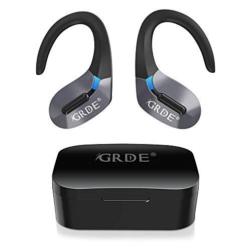 Auriculares Bluetooth, GRDE Auriculares Inalambricos (Deportivos IPX5 Impermeable)...