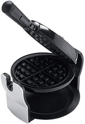 Oster CKSTWFBF10 Belgian Flip Waffle Maker, Black