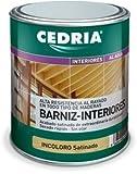 Barniz Interior Madera Cedria Barniz Interiores 750 ml (Incoloro)...