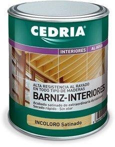 Barniz Interior Madera Cedria Barniz Interiores 750 ml (