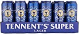 Tennent's Super Strong Lager Beer, 7.5% ABV - Ideal Beer Party Pack -