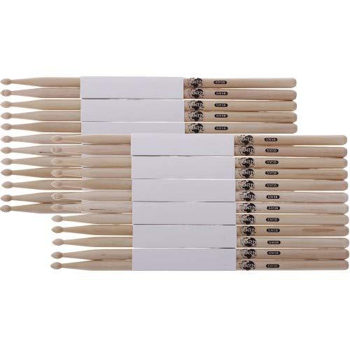 12 Paar Korn Drumsticks 5B