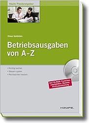 Buchtipp: Betriebsausgaben von A-Z