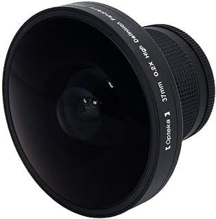 Opteka Platinum Series 0.2X HD パノラマ「Vortex」220度 魚眼レンズ Sony DCM-M1 DCR- DVD100 DVD103 DVD110 DVD115 DVD200 DVD203 DVD300 DV...