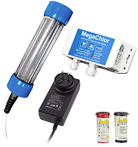 ControlOMatic MegaChlor-CD Saltwater Smart Chlorine Generation...