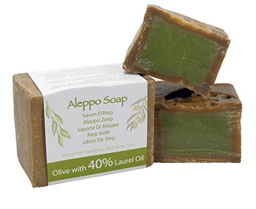 Jabón natural de Alepo tradicional y genuino