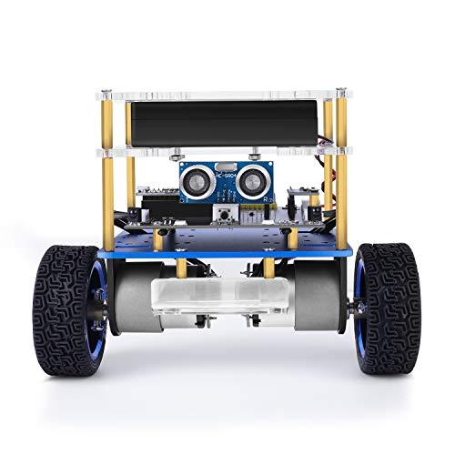 Elegoo Kit Auto per Robot autobilanciante Tumblr Compatibile con Arduino, Kit STEM Giocattoli per Bambini