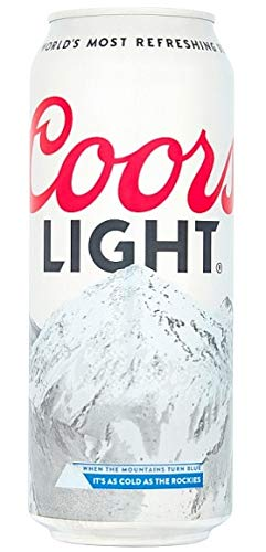 Coors Light 24 x 500ml inkl. 6 Euro DPG-Pfand