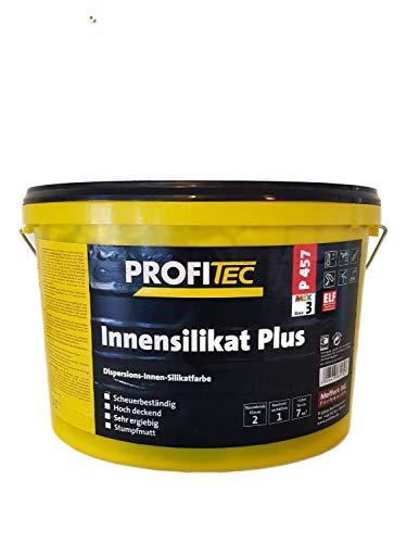 Profitec Innensilikat Plus Wandfarbe Stumpfmatt Dunkelgrau 12,5 Liter
