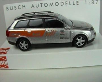 Busch Voitures - BUV49258 - Modélisme Ferroviaire - Audi A4 - Avant Service Mobil