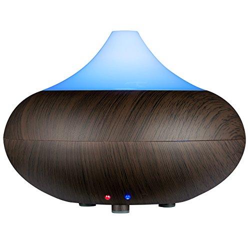 VicTsing VS4-RH48NUS-VD 140ml Essential Oil Diffuser Humidifier, 5.40 x 5.60 x 5.60 inches, Black