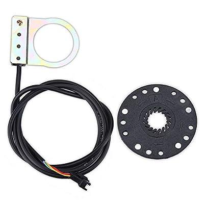 MAGT Fahrrad-Pedal-Assistent Sensor, elektrisches Fahrrad Netz Pedal Assist Sensor-Elektro-Fahrrad PAS Spannungsmodus EBike Assistent-Radfahren Zubehör Fahrradteile Set (Farbe : A)