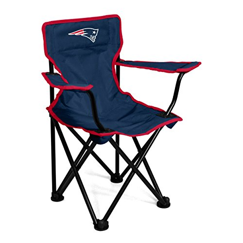 Logo Brands NFL New England Patriots Toddler Chair, One Size, Navy