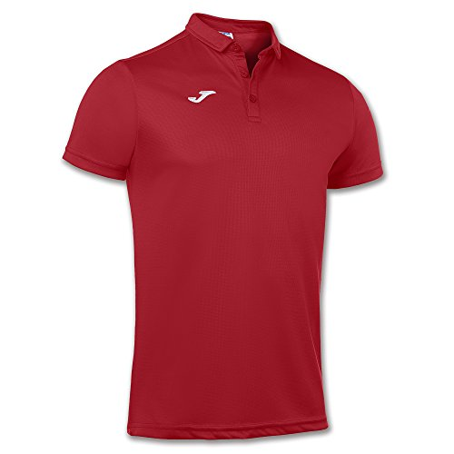 Joma Hobby, Polo para Hombre, Rojo (600), XL