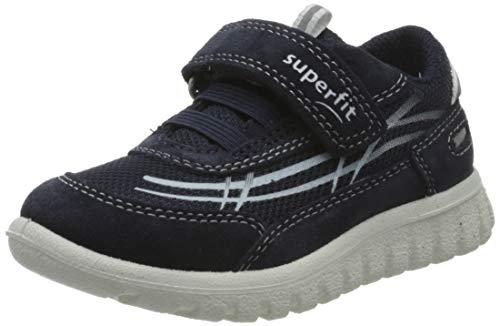 Superfit Jungen SPORT7 Mini Sneaker, Blau (Blau 80), 28 EU