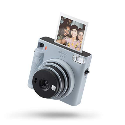 Fujifilm instax SQUARE SQ 1 Glacier Blue | Fotocamera a sviluppo istantaneo | Modalità One-Touch Selfie | Esposizione Automatica | Foto Formato 62x62mm