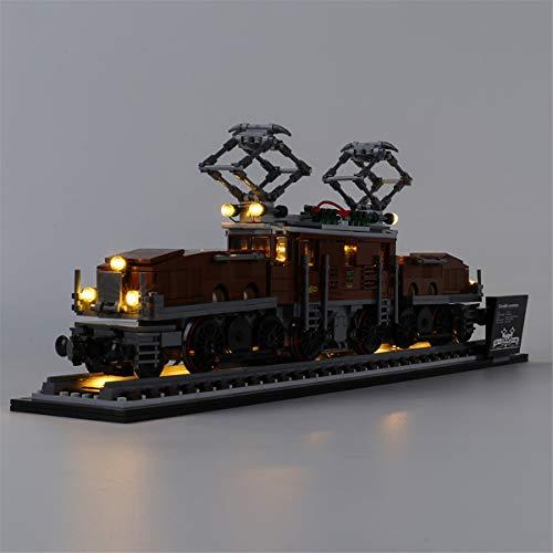 Kit De IluminacióN Led Para Creator Crocodile Locomotive, Compatible Con El Modelo De Bloques De ConstruccióN De Juguetes Lego 10277 (No Incluido El Modelo)