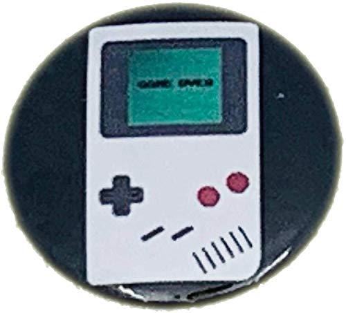 MALALPHA Alfileres y broches - Consola de Juegos Retro-Gaming Geeks Vintage