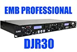 EMB Professional DJR30 1U DUAL USB/SD Digital Player & Recorder Rack Mount
