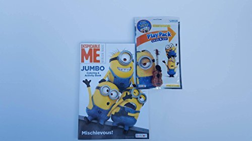 Minion Despicable Me Jumbo Coloring Book and Play Pack Complete with Stickers and Crayons Activity Set