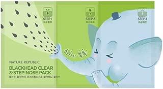 [Nature Republic] Blackhead Clear 3 Step Nose Pack