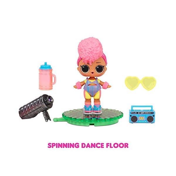 L.O.L. Surprise!- LOL Surprise Dolls Dance-8 Sorpresas, Ropa de Marca y Accesorios de Moda-Incluye Pista Giratoria y…