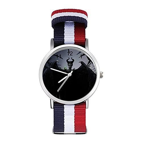 Curse SleepBraided Band Reloj con escala de moda ajustable para negocios, banda de impresión a color, adecuado tanto para hombres como para mujeres