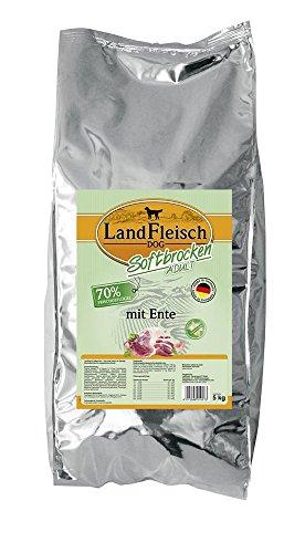 Landfleisch Dog Softbrocken mit Ente, 1er Pack (1 x 15 kg)
