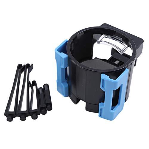 GUYAQ Autotassenhalter Autotelefonhalter Universal Smart Drink Clip-On-Halter Verstellbarer Autotelefonhalter Multifunktionaler Getränkehalter,Blau
