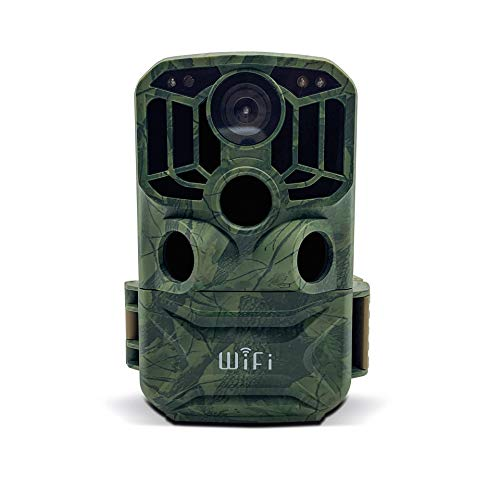 Braun Germany Scouting Cam Black800 WiFi Wildkamera Fernbedienung, Black LEDs, WLAN, Zeitrafferfunktion Camouflage Grün