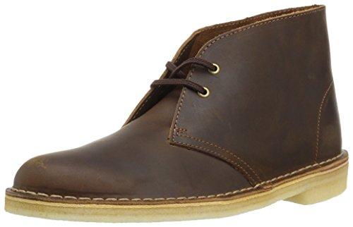 Clarks womens Desert Boot, Beeswax, 6.5 US