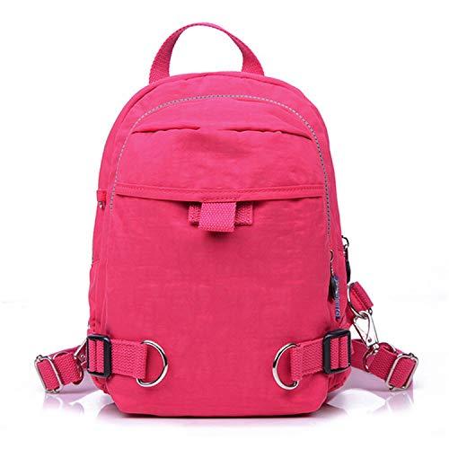 Beautiful-Day women school backpack, Borsa a zainetto donna Rosato Misura unica
