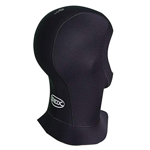Wetsuit Hood Scuba Diving Hood 5mm Thermal Neoprene Wetsuit Hat Cap with Flow Vent L Size