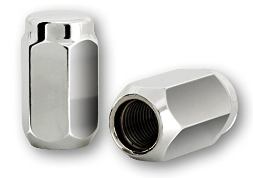 20 Radmuttern chrom 12x1,25mm Nuts Muttern mit 60° Konus - Schlüsselweite : 19mm~