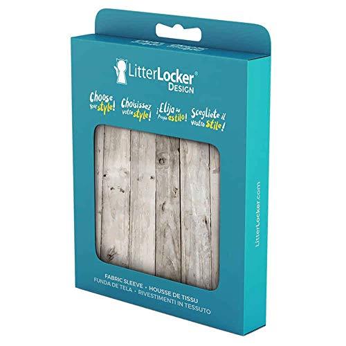 LitterLocker 10454 Fashion - Funda de Tela, diseño de Madera