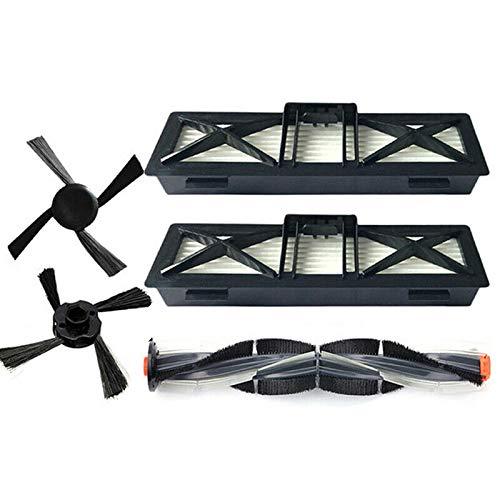 TOOGOO Brosse Principale + Brosses Latérales + Filtres Kits pour Neato Neato D Séries D7/D5/D3/D7500