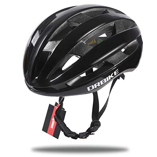 DRBIKE 自転車 ヘルメット 超軽量 28通気穴 アダルト MTB 大人用 ロードバイク クロスバイク サイクリング スポーツ サイクルヘルメット 通勤 高剛性 男女兼用 通気 サイズ調整可能 ブラック